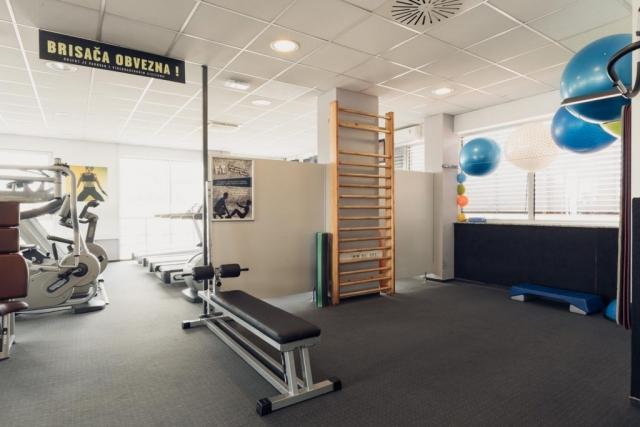 Prostor za vaje v fitnesu