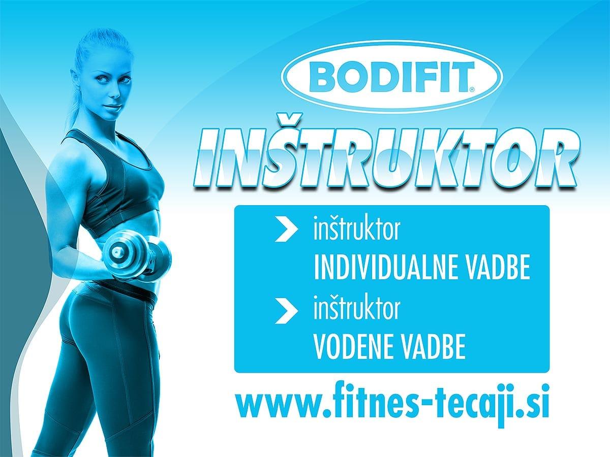 Tečaj Bodifit inštruktor
