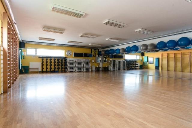 Velika dvorana za vodene vadbe