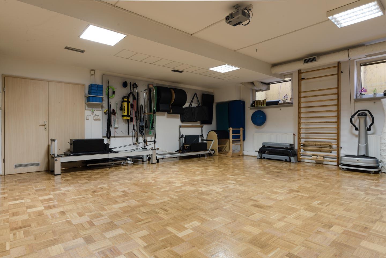 Mala dvorana s pilates pripomočki