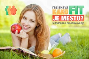"Raziskava ""KAKO FIT JE MESTO 2017"""