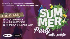 Adijo poletje - summer party vol2.