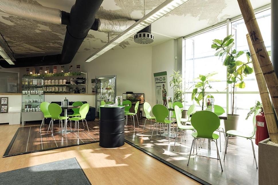 Prostor za počitek, kavo in pijačo