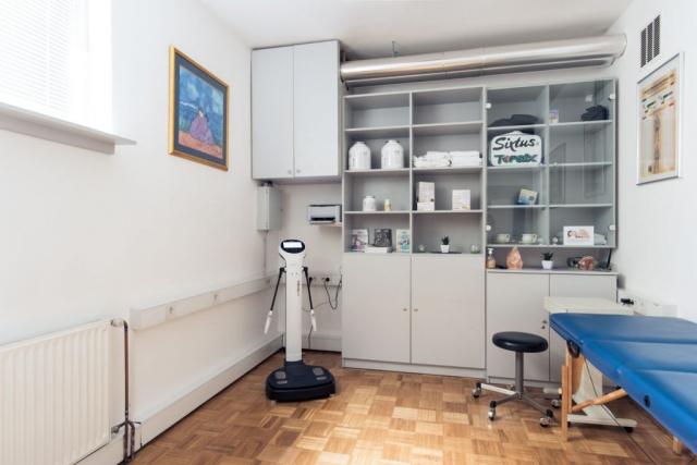 Soba za testiranja Inbody in masaže