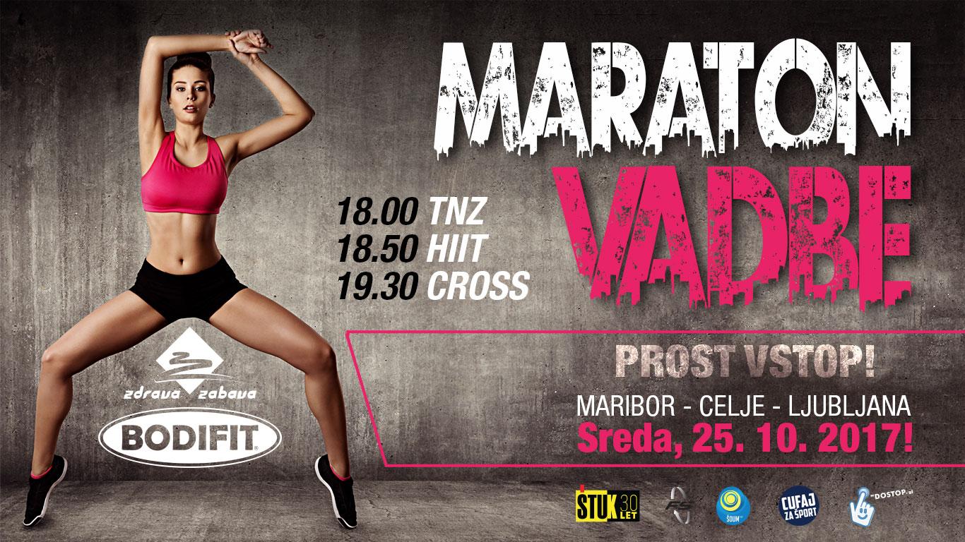 Maraton vadbe z BODIFIT-om