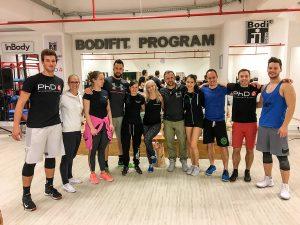 Ljubljanski polfinalisti tekmovanja BODIFIT atlet